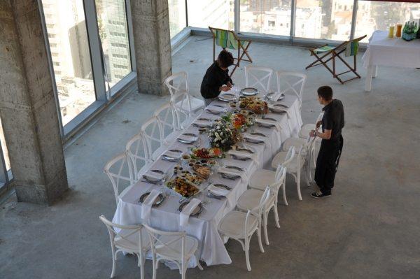 אירוח אורחים מחוץ לארץ