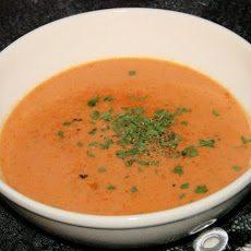 מרק עגבניות עשיר