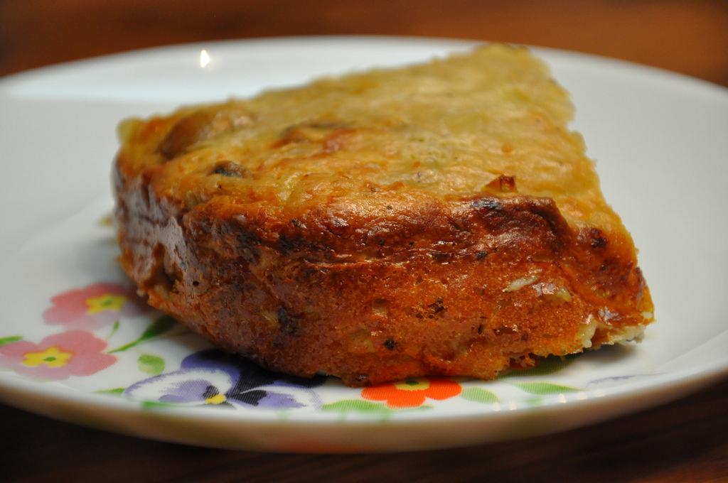 מאפה גבינות ופטריות