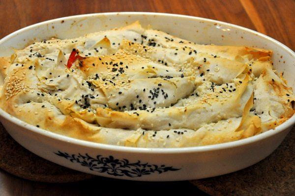 מאפה גבינות וירקות
