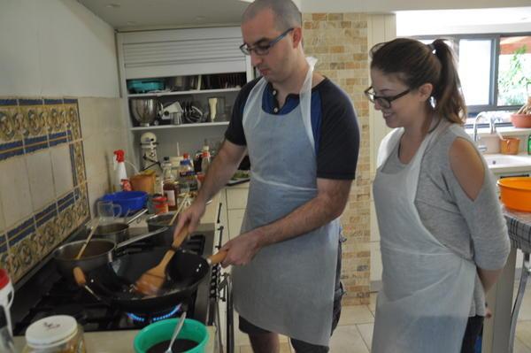 סדנת בישול אסייתי זוגית