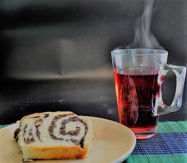 עוגת שמרים פרג ללא סוכר
