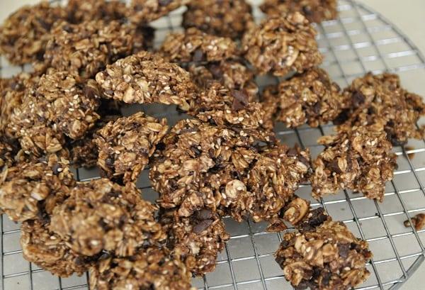 עוגיות שיבולת שועל שוקולד ואגוזים