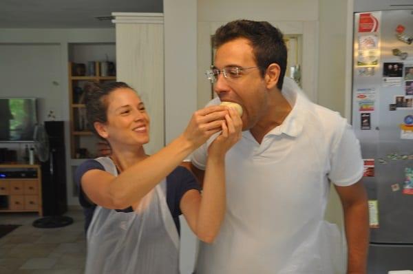 בישול משותף עם זוג